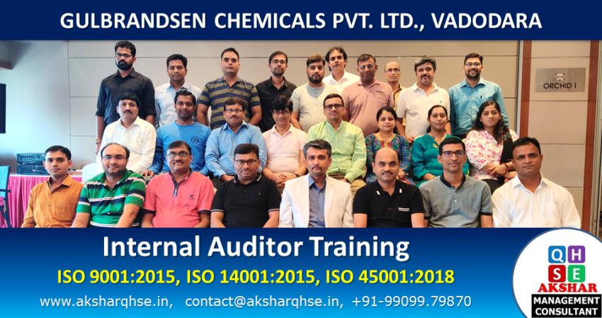 Internal Auditor Training @ Gulbrandsen Chemical Pvt. Ltd.