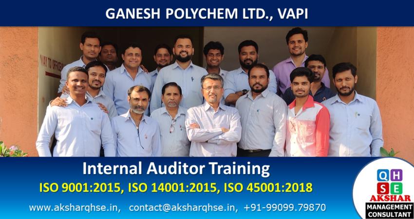 Internal Auditor Training @ GPL
